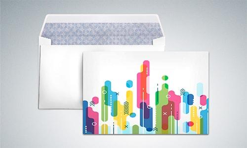 Почтовые конверты с логотипом