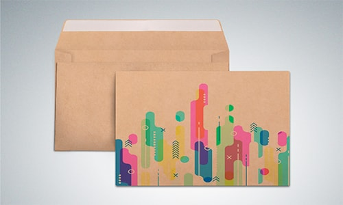 Крафт-конверты с логотипом