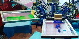 Шелкографская печать